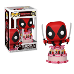 FUNKO POP MARVEL DEADPOOL 30TH 776 - DEADPOOL IN CAKE