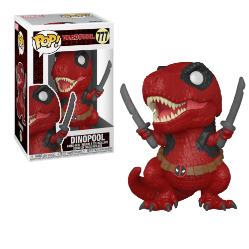 FUNKO POP MARVEL DEADPOOL 30TH 777 - DINOPOOL