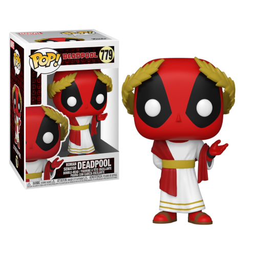 FUNKO POP MARVEL DEADPOOL 30TH 779 - ROMAN SENATOR DEADPOOL