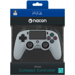 NACON CONTROLLER WIRED GREY (GRIGIO) PS4