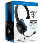 MONO CUFFIA TURTLE BEACH WIRED RECON CHAT HEADSET TBS-3345-02 PS4 XONE CELLULLARE PC BLACK