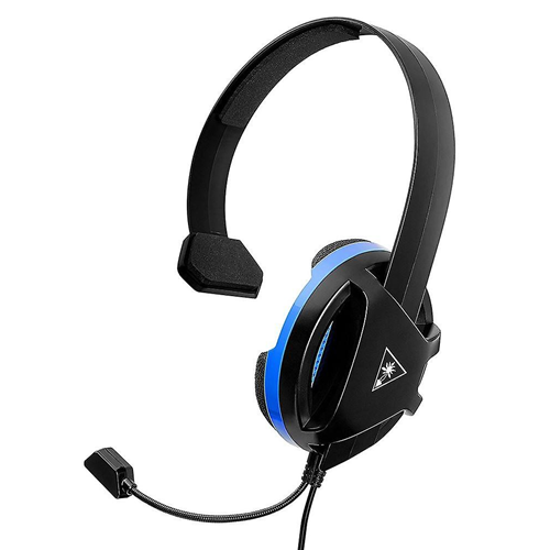 MONO CUFFIA TURTLE BEACH WIRED RECON CHAT HEADSET TBS-3345-02 PS4 ONE CELLULLARE PC BLACK